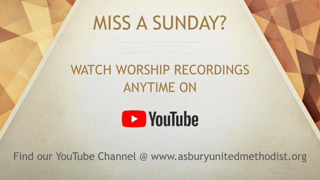 Watch Worship Recordings Anytime on YouTube