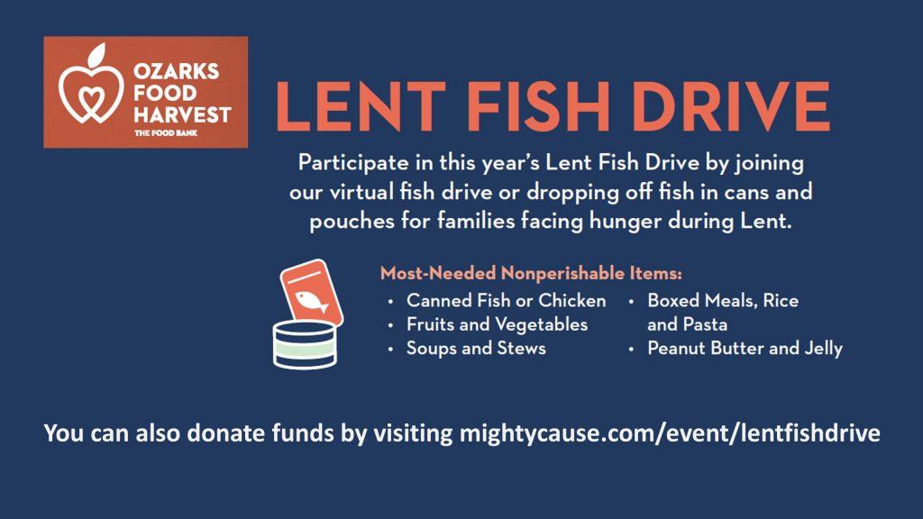 Lent Fish Drive 2021